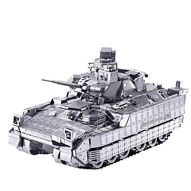 levne 3D puzzle-3D puzzle Puzzle Kovové puzzle Tank Vozík Zábava Klasické Hračky Dárek