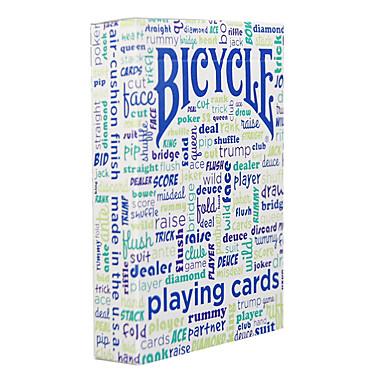 heminredning bord prata cykel poker card magic rekvisita spelbordet baddräkt