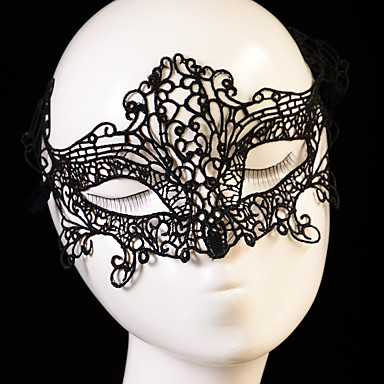povoljno Party pokrivala za glavu-Čipka Šeširi / maske s Cvjetni print 1pc Vjenčanje / Special Occasion Glava
