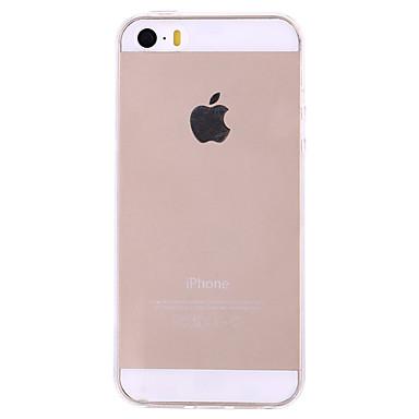 fodral Till iPhone 5   Apple iPhone 5-fodral Ultratunt   Genomskinlig Skal  Enfärgad Mjukt TPU för iPhone SE   5s   iPhone 5 1253129 2018 –  1.99 cf2ae979a2323