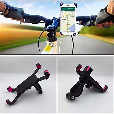 billige Sykkeltilbehør-Telefonstativ til sykkel Bærbar Anti Shake Stabil til Vei Sykkel Fjellsykkel ABS iPhone X iPhone XS iPhone XR Sykling Svart Rosa 1 pcs