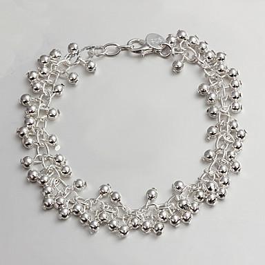 Dam Kedje & Länk Armband Mode Sterlingsilver Smycken För Dagligen Casual Julklappar 1st