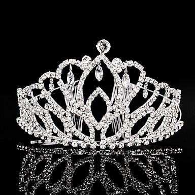 povoljno Party pokrivala za glavu-Umjetno drago kamenje tijare / Šeširi s Cvjetni print 1pc Vjenčanje / Special Occasion Glava