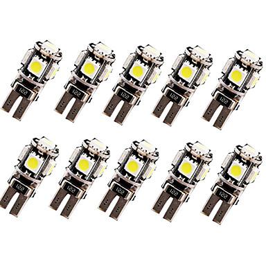 billige Interiørlamper til bil-SO.K 10pcs T10 Bil Elpærer 2.5 W 120 lm LED Blinklys For Universell