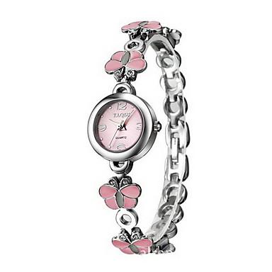 Mujer Reloj de Vestir Reloj Pulsera Cuarzo Cuarzo Japonés   Aleación Banda  Mariposa Elegantes Plata 5098861 2018 –  7.99 29405b69ab6c