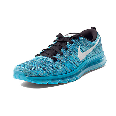 low priced 916f4 1e16e [$101.96] Nike Flyknit Air Max Running Shoes Men's Blue Nike Flyknit airmax  2016 Athletic Shoes Men's