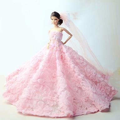 Wedding Dresses For Barbie Doll Pink 5094117 2017 1199