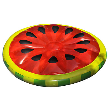 cheap Inflatable Ride-ons & Pool Floats-Inflatable Pool Float Swim Rings Pool Lounger Inflatable Pool PVC(PolyVinyl Chloride) Summer Watermelon Pool Kid's Adults'