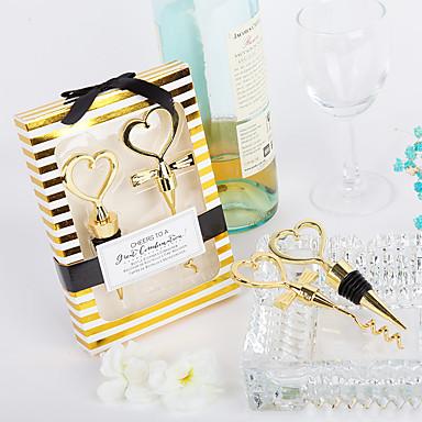 billige Gaver til bryllupsgjestene-Ikke-personalisert Materiale / Chrome Flaskestoppere / Flaskeåpnere / Andre Strand Tema / Klassisk Tema / Ferie Flaskegave