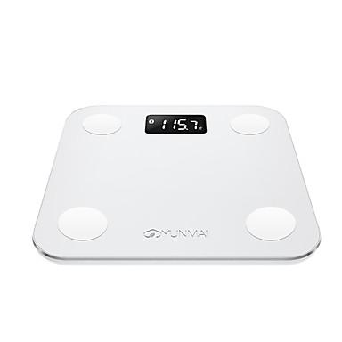 preiswerte Körpergewichtskala-N/A Automatisch LCD Anzeige Kunststoff