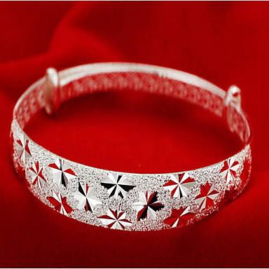 preiswerte Armreifen Armband-Damen Armreife damas Asiatisch Modisch Italienisch Sterling Silber Armband Schmuck Silber Für Weihnachts Geschenke