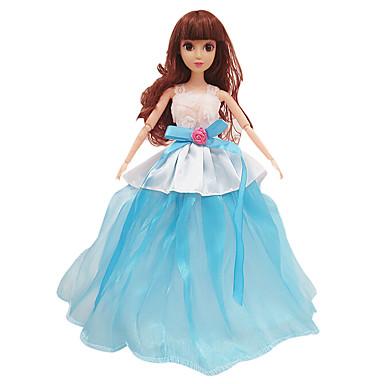 11,5-tums high-end high-end klänning klänning brudklänning blå (utan barn)