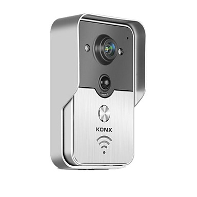 knx smart home phone remote wireless video doorbell intercom wifi 5110112 2019. Black Bedroom Furniture Sets. Home Design Ideas
