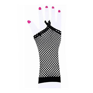 preiswerte Tanzkleider & Tanzschuhe-Tanz Accessoires Tanz-Handschuhe Damen Leistung Nylon / Elasthan Überkreuzte Rüschen Handschuhe / Aufführung