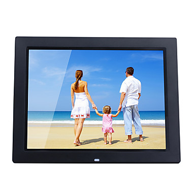 14 Inch Digital Picture Frame 1024768 Usb 20 With Clock