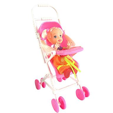 1487 kelly docka tillbehör mini barnvagn söt drömhus utan baby baby bb leksaksbil