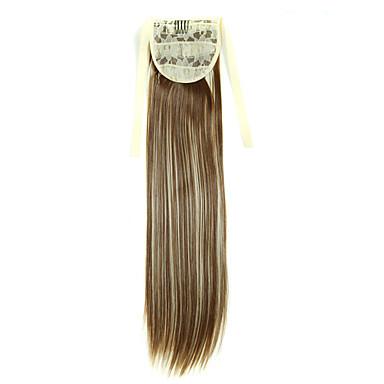 levne Culíky-Připínací Culíky a copy Umělé vlasy Hair kus Prodlužování vlasů Volný / Rovné