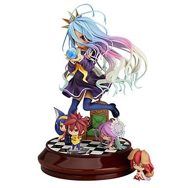 povoljno Anime figurice-Anime Akcijske figure Inspirirana Ne igra nema života Shiro PVC 20 cm CM Model Igračke Doll igračkama