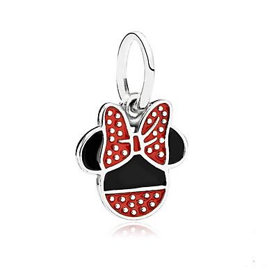 povoljno Modne ogrlice-Privjesci Miš Sa životinjama Slatka Style Broš Jewelry Crvena Za