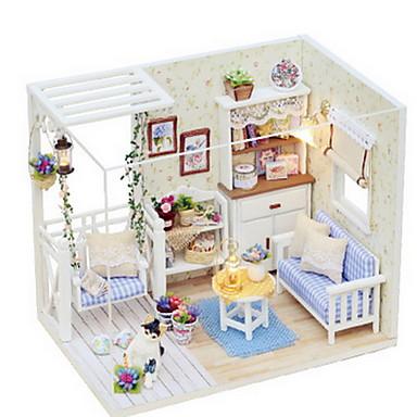 CUTE ROOM Låtsaslek Modellbyggset GDS (Gör det själv) Möbel Hus Trä Flickor Leksaker Present