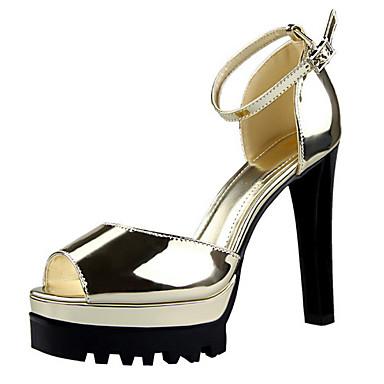 Mujer Zapatos PU Verano Confort Sandalias Tacón Cuadrado Negro / Fiesta y Noche Style De Mode Haute Qualité La Sortie Pas Cher Jeu En Ligne Ebay AoeVV