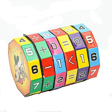 preiswerte Mathematische Spielsachen-Mathe-Spielzeug Bildungsspielsachen Umweltfreundlich Kunststoff Klassisch Kinder Spielzeuge Geschenk