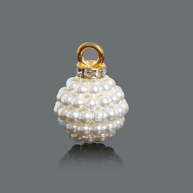 levne Dámské šperky-Dámské Přívěsky Přívěšky Perly ze semen dámy Módní Perly Umělé diamanty Brož Šperky Křišťálový Pro Denní / 10pcs
