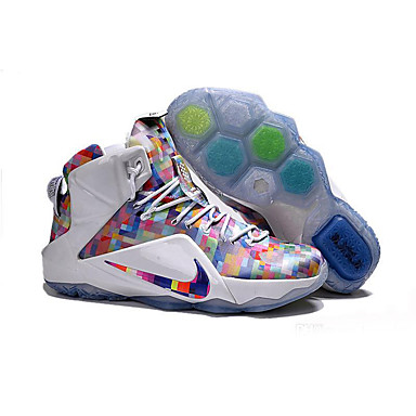 size 40 9950f 54975 Men s Lebron 12 XII Ext Prism Finish Your Breakfast LEBRON 12 LBJ 12 Lebron  James Basketball Shoes Sneakers 5091546 2019 –  102.99