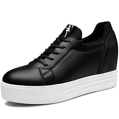 női cipő szintetikus   tüll tavasz   őszi   téli tipegő cipők sportos    alkalmi platform fűzős fekete   fehér 5084123 2019 –  50.99 11afa55f88