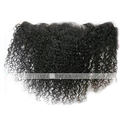 povoljno Ekstenzije od ljudske kose-Arison Hair Peruanska kosa Kovrčav / Klasika / Kinky Curly Besplatno dio / Središnji dio Švicarska čipka Ljudska kosa Dnevno