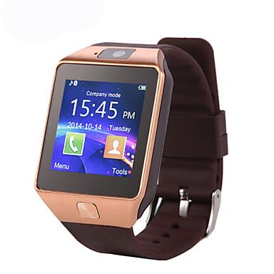 Smart horloge DZ09 voor Android Verbrande calorieën / Lange stand-by / Handsfree bellen / Aanraakscherm / Camera Stopwatch / Gespreksherinnering / Activiteitentracker / Slaaptracker / sedentaire