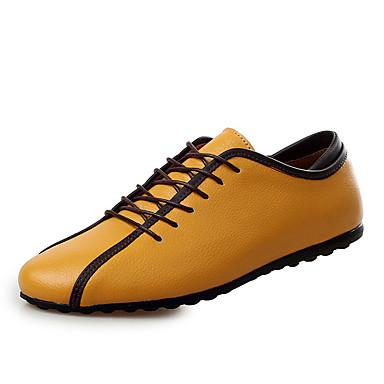 Kényelmes-Lapos-Női cipő-Tornacipők-Alkalmi-Bőr-Kék Sárga Fehér 5198288  2019 –  34.99 058e305fd1