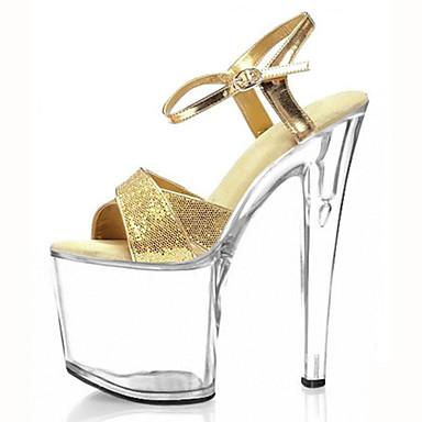 Women s Heels Spring Summer Fall Heels Platform Sandals Customized  Materials Wedding Party   Evening Dress Stiletto Heel Rose Gold 5180705  2019 –  49.99 0f6bcf102d82