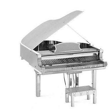 levne 3D puzzle-Puzzle 3D puzzle Stavební bloky DIY hračky Piano 1 Kov