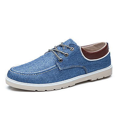 9825be1b484f Men s Shoes Westland® Canvas   Comfort Sneakers Outdoor   Athletic   Casual  Flat Heel Lace-up   Blue   Light Gray   Gray 5149290 2019 –  24.99