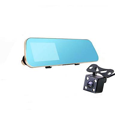 billige Bil-DVR-kjøring opptaker med dobbel linse HD 1080p videokamera parkeringsplass overvåke flere språk