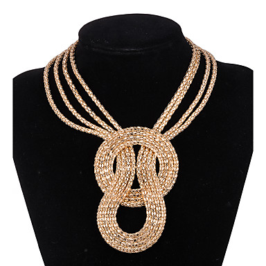 Gold Stiped Beaded Necklace Prom Casual Work Fun Dress Party 22
