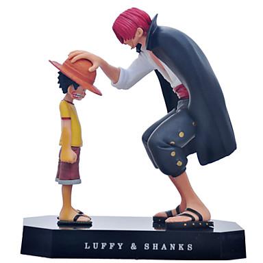 preiswerte Action & Spielfiguren-Anime Action-Figuren Inspiriert von One Piece Monkey D. Luffy PVC CM Modell Spielzeug Puppe Spielzeug Herrn