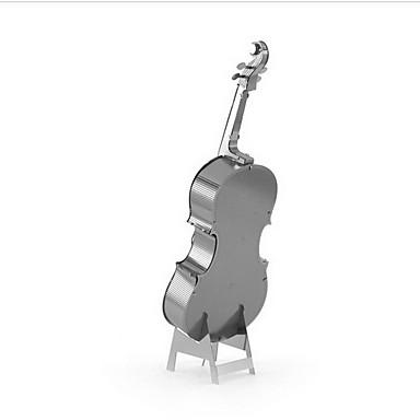 levne 3D puzzle-3D puzzle Modele Hračky Hudební nástroje Cello Kov Chlapecké Dívčí 1 Pieces