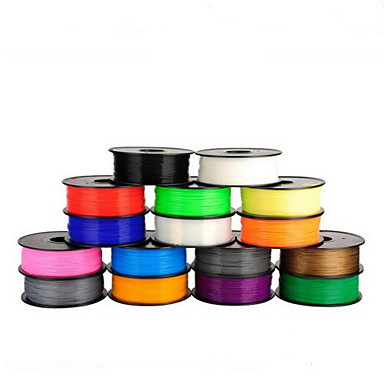 cheap 3D Printer Supplies-3D Printing Supplies One Kilogram PLA 1.75MM 3D Supplies Printer Supplies(Random Colors)