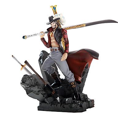ovanpå annan teater version av Hawkeye Mihawk kung av strid garage kit anime actionfigurer modell leksak