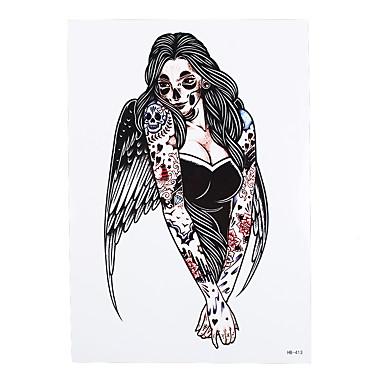 209 1 Pcs Nietoksyczne Wzór Halloween Tatuaże Tymczasowe Halloween Sztuka Na Ciele Korpus Ramię