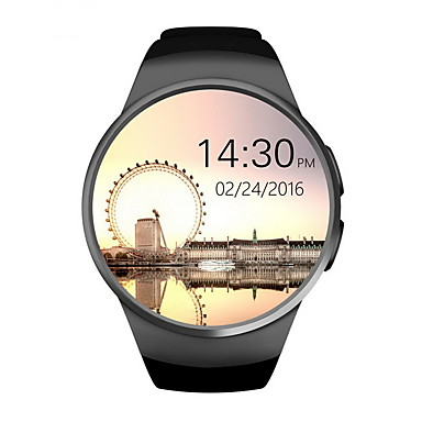 Men's Women's Smartwatch Digital Touch Screen Alarm Calendar / date / day Rubber Band Digital Black / White / Brown - Gold Black Silver / Remote Control / RC / Pedometers / Fitness Trackers