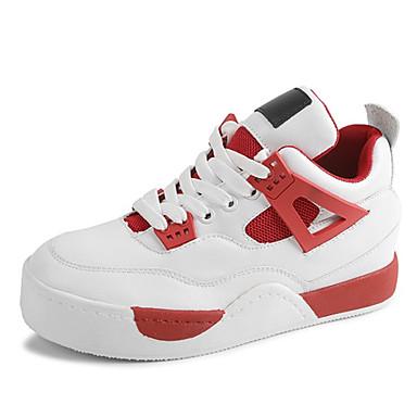 f9a6eae1492 Γυναικεία παπούτσια-Αθλητικά Παπούτσια-Ύπαιθρος-Πλατφόρμα-Creepers-Δερματίνη -Κόκκινο / Άσπρο 5157293 2019 – $24.99