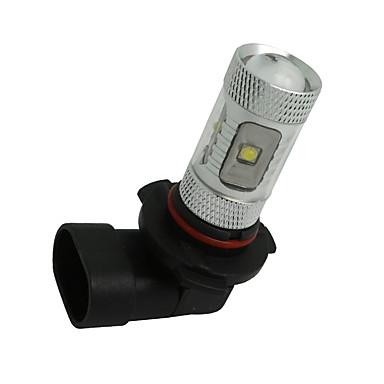 2 x vit hög effekt 30W HB3 9005 ledde glödlampor DRL dimma / kör ljus lampa 12v-24v