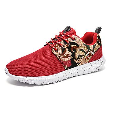 Kényelmes-Lapos-Női cipő-Tornacipők-Sportos-Tüll-Fekete Kék Piros 5135242  2019 –  23.99 23c28b6c06