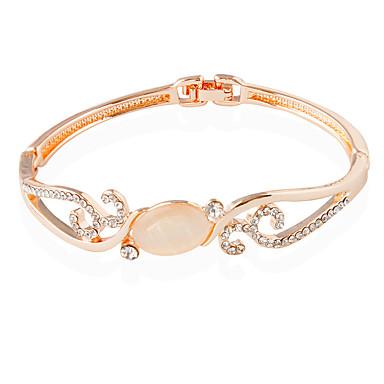 Bracelet Tennis Bracelet Alloy Circle Fashion Wedding Jewelry Gift Rose 4fb5eaf3fcc1