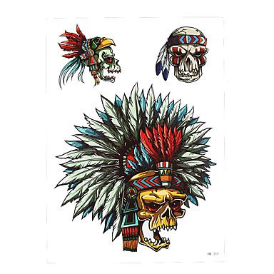 099 Naklejki Z Tatuażem Inne Non Toxic Wzór Dolna Część Pleców Waterproofdamskie Męskie Dorosły Tattoo Flash Tatuaże Tymczasowe