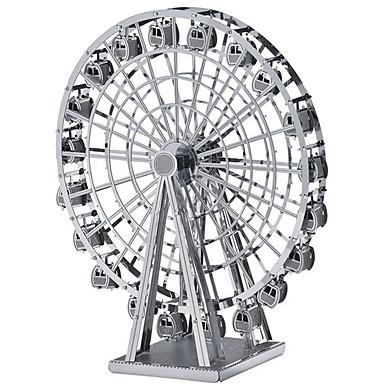 voordelige 3D-puzzels-Modelbouwsets Cirkelvormig Reuzenrad Noviteit Muovi Metaal Geschenk