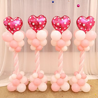 Polyethylene wedding decorations 1pieceset balloon wedding rustic polyethylene wedding decorations 1pieceset balloon wedding rustic theme pink blue spring personalized na 5162936 2018 1799 junglespirit Image collections